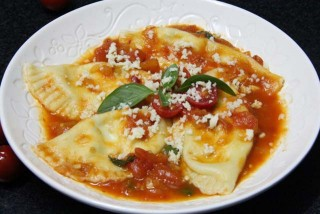 Cheese ravioli via FoodPunch.com