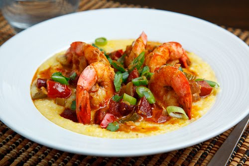 Shrimp and Grits via closetcooking.com