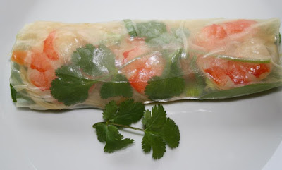 Viatnamese shrimp roll