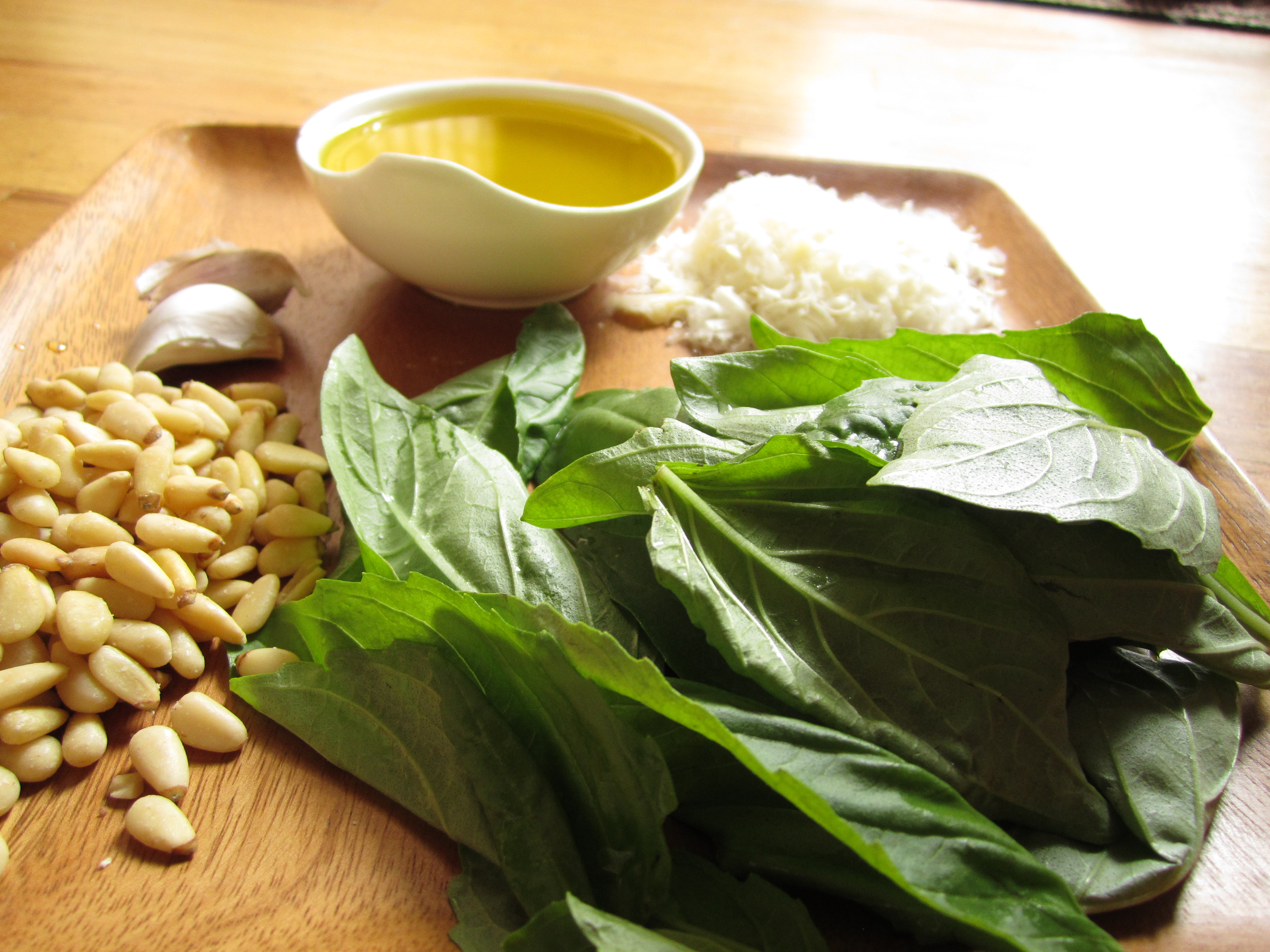 How To Make Battuto And Pesto Leaning Ladder
